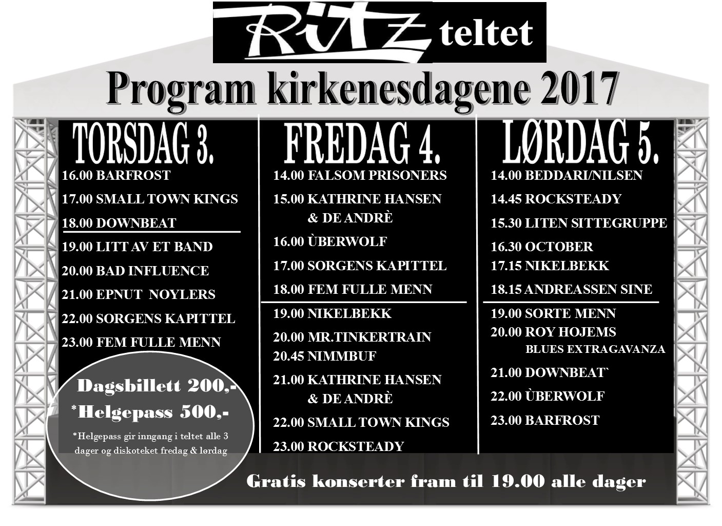 Ritzteltet program