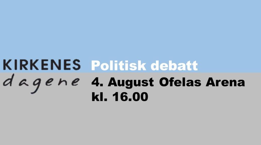 politisk debatt